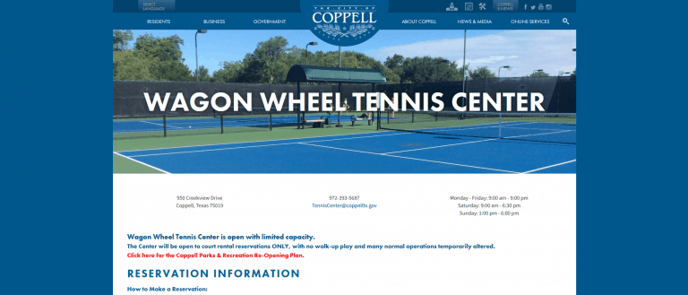 Wagon Wheel Tennis Center