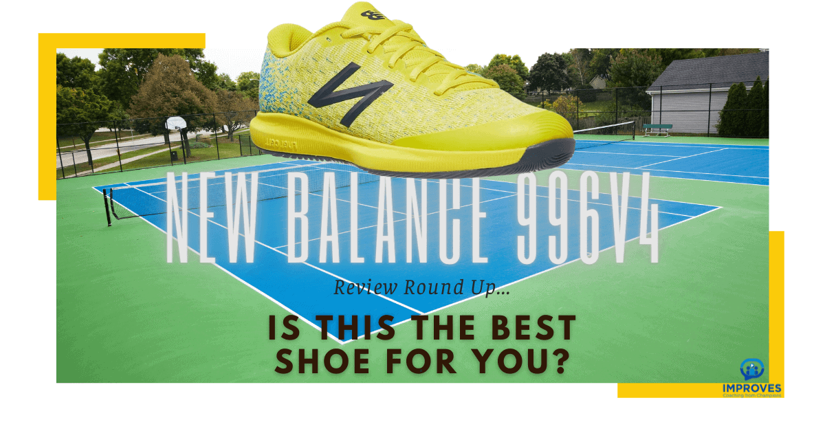 A Review of New Balance 996v4 Women's Tennis Shoes