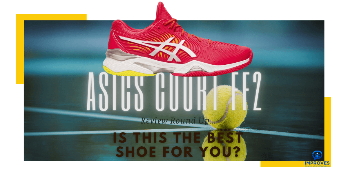 Review of Tennis Shoes Asics Court FF 2